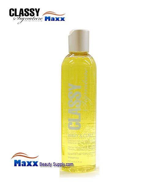Classy Signature Shampoo for Curly and Wavy Hairs 8.5oz